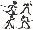 Окружные чемпионаты по лыжным гонкам.